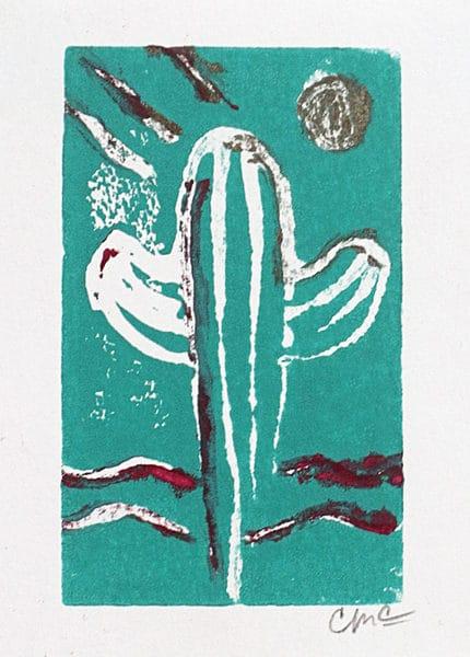 Carol McGraw Art Cactus