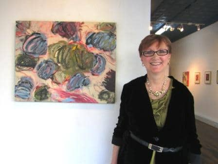 Carol McGraw at Antreasian Gallery, 2011